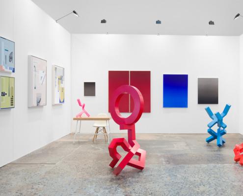 Galerie Pompom at Sydney Contemporary Art Fair, September 2018.