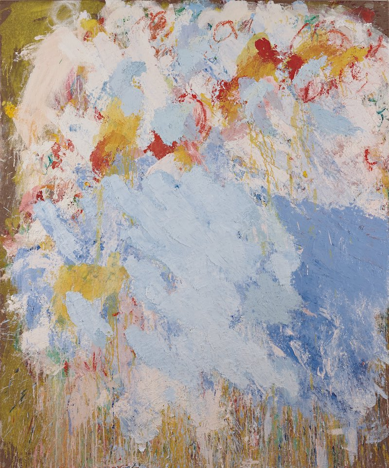 Aida Tomescu, Bribie, 2015. Oil on Belgian linen, 183 x 153cm.