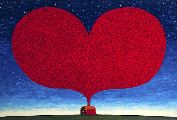 Dean Bowen: The Home Of Kindness - Paintings and Sculpture